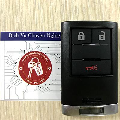 chìa khóa thông minh smartkey chevrolet captiva 3 nut