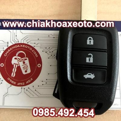 chia khoa remote honda city 3 nut chinh hang-chiakhoaxeoto
