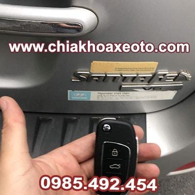 Chìa Khóa Remote Điều Khiển Hyundai Santafe