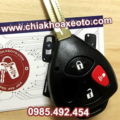 chia khoa remote toyota corolla altis 3 nut chinh hang-chiakhoaxeoto