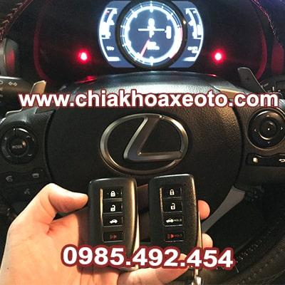 chia khoa thong minh lexus rc350-is250-is350-gs350-chiakhoaxeoto
