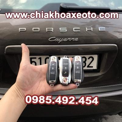 chia khoa thong minh porsche cayenne macan cayman panamera 2014-chikhoaxeoto