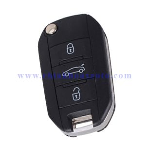 chìa khóa remote điều khiển peugeot 408