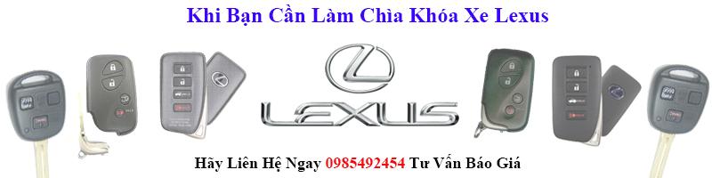 chìa khóa xe lexus