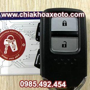 chia khoa thong minh honda CRV 2 nut chinh hang-chiakhoaxeoto