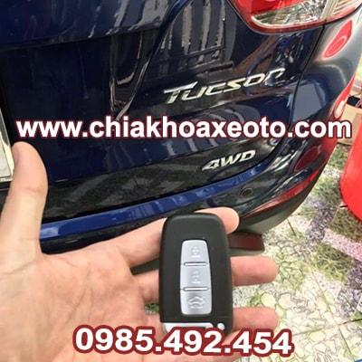 Chìa Khóa Thông Minh Smartkey Hyundai Tucson 3 Nút