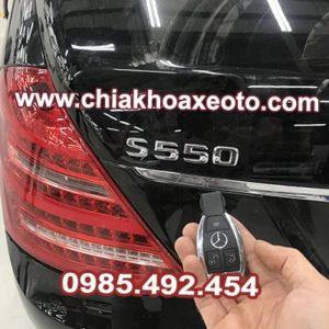 chia khoa remote mercedes s class s550 2006-chiakhoaxeoto