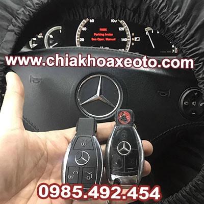 chia khoa remote mercedes s class s550 2007-chiakhoaxeoto
