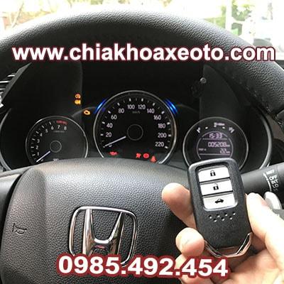 chia khoa thong minh honda city 2019-chiakhoaxeoto