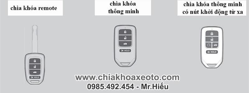 cac loai chia khoa thong minh smartkey honda-chiakhoaxeoto