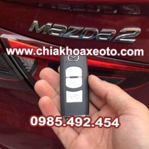 chia khoa thong minh mazda2 sedan-chiakhoaxeoto.com