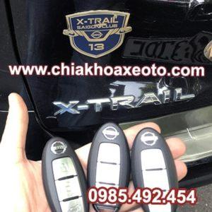 chia khoa thong minh nissan xtrail-chiakhoaxeoto.com