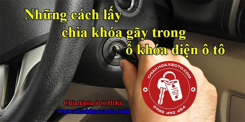 cach lay chia khoa gay trong o khoa dien oto-chiakhoaxeoto.com