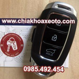 chia khoa thong minh huyndai santafe 2019-chiakhoaxeoto.com