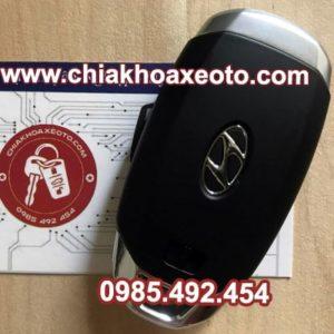 chia khoa thong minh huyndai santafe 2019 chinh hang-chiakhoaxeoto.com