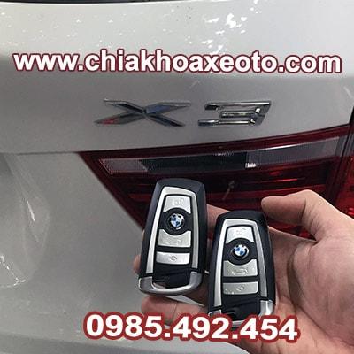 chia khoa thong minh bmw x3-chiakhoaxeoto.com