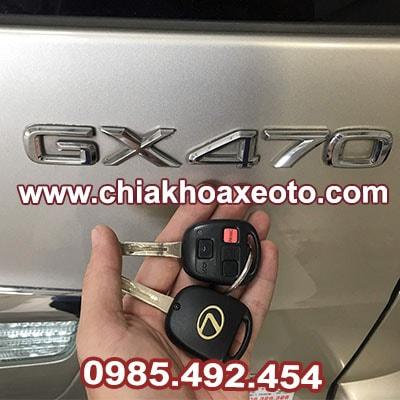 chia khoa remote lexus gx470-chiakhoaxeoto